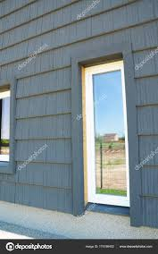 Passive Facade Design New Modern Passive House Energy Efficiency Facade Wall With