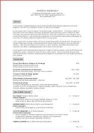 Fresh Art Resume Examples Excuse Letter