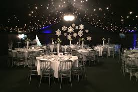 Winter Wonderland Ball Decorations