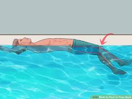 pool water with float. Image Titled Float On Your Back Step 13 Pool Water With
