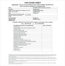 Printable Fax Cover Sheet With Confidentiality Statement Sample ...