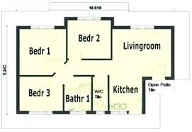 free 3 bedroom house plans pdf ranch with walkout basement wow x architectures