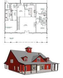 would flip front and back in 2020 | Barn homes floor plans, Barndominium  plans, Pole barn house plans