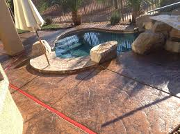 how to get spray paint off concrete patio pool deck pros hot tub spring valley refinishing kit v