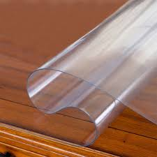 round waterproof clear pvc tablecloth table cover matte desk protector cloth placemat 1 5mm thickness 23