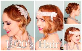 1920 Hair Style 1920s faux bob and updo tutorial youtube 7404 by wearticles.com
