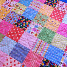 Making Patchwork Quilting from Upholstery Fabric - Goodwool Hunting & Make a Large Flat Quilt Adamdwight.com