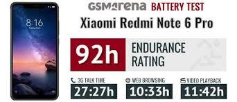 Image result for Kapasitas Baterai Xiaomi Redmi Note 6 Pro