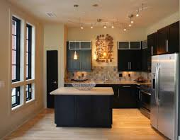 track lighting in kitchen. Kitchen:Modern Kitchen Track Lighting Stylish For A Small And Compact Alluring In L