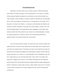 english process essay 5 process essay