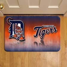 detroit tigers mlb baseball teams league 355 door mat rug carpet doormat doorsteps foot pads