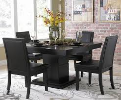 black wood dining room table inspiring good black wood dining table modest black wood dining room