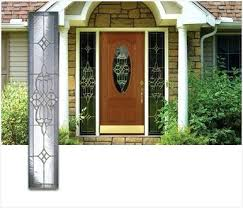 front doors glass panels inviting sidelight door panels chic ideas front door side panel glass