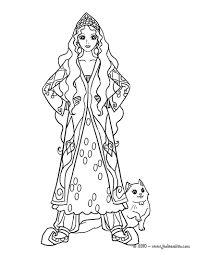 Coloriages Princesses Fr Hellokids Com