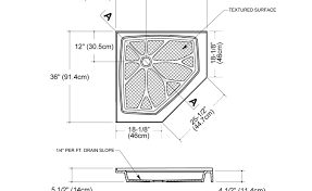Martinkeeis Me 100 Corner Shower Stall Dimensions Images