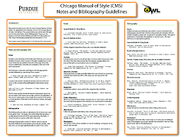chicago a referencing citation styles libguides at  from owl the online writing lab at purdue university chicago citation style examples