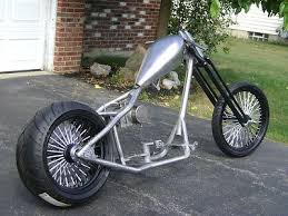 custom chopper rolling chassis roller motorcycle frame harley