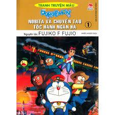 Sách - Doraemon Tranh Truyện Màu - Nobita Và Chuyến Tàu Tốc Hành Ngân Hà -  Tập 1, Giá tháng 1/2021