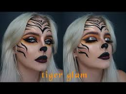 y tiger makeup glam themegscahill