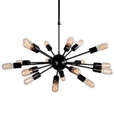 office chandelier lighting. Sputnik Vintage Edison Ceiling Pendant Lamp Home Office Hanging Chandelier Light Lighting