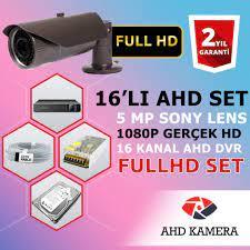16-LI 1000 GB HDDLİ 5 MP SONY LENS GÜVENLİK KAMERASI SİSTEMİ Fiyatları ve  Özellikleri