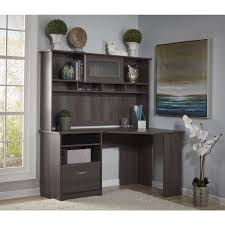 bush furniture cabot collection corner desk with hutch bush desk hutch office