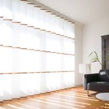 white wooden vertical blinds.  Wooden Banners White  Vertical Blinds Wood U0026 Washi Intended White Wooden Blinds B