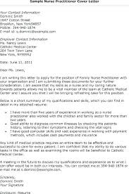 Examples Of Written Cover Letters Cover Letters Nursing Nurse