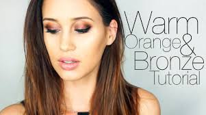 warm toned makeup tutorial kylie jenner inspired