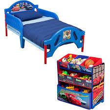 disney cars toddler bed walmart