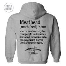 meathead definition zipper hoo