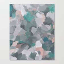 mint teal blue c pink heather gray