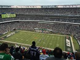 Metlife Stadium Football Seating Chart Breakdown Of The Metlife Stadium Seating Chart New York