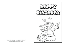 Birthday Cards Free Download Printable Impressive Coloring Pages Coloring Birthday Card Printable Happy Cards For