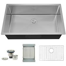 Torva 30 Inch 16 Gauge Stainless Steel Undermount Kitchen Sink