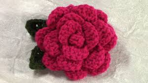 Crochet Flowers Patterns Simple DIY Crochet Flower Tutorial Crochet Flower Leaf Pattern YouTube