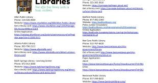 Get a library card online free. Free Library Cards For Texas Residents Libraries