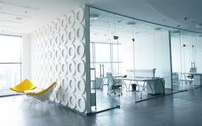 modern small office design. Elegant White Themes Decoration For Modern Small Office Interior Design Ideas