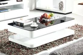 white gloss coffee table white gloss coffee table with black glass white gloss coffee table