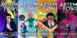artemis fowl relaunched with new book covers