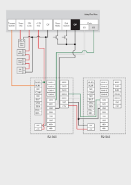 r2 565 r2 565 master slave wiring diagram settings to use 2 units of r2 as master slave terminal you will need to connect the 2 terminals together according to the connection diagram below terminal