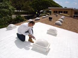 photo of leakmaster roofing honolulu hi united states a white cool roof