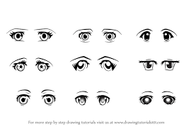 how to draw anime eyes step by step for beginners. Simple Eyes Learn How To Draw Anime Eyes  Female Eyes Step By  Drawing  Tutorials Intended To By For Beginners