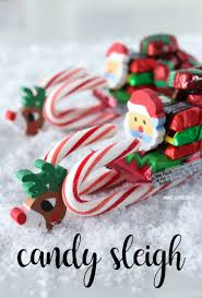 Christmas Decorations Using Candy Canes How to Make a Candy Sleigh Smart School House 47