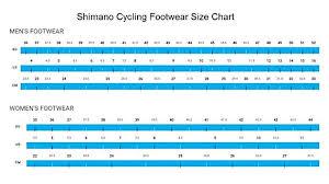 Shimano Shoe Size Guide Bike Shoe Conversion Chart Sidi