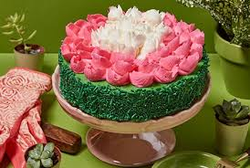 Gourmet Flower Birthday Cake