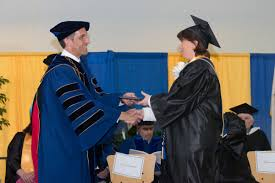essay by president analyzing student handshakes on graduation among