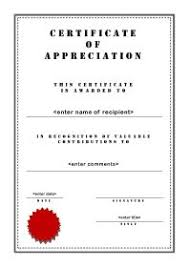 free templates for certificates of appreciation free printable certificates of appreciation