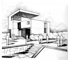 architectural house drawing. Drawn Hosue Modern Architectural Design House Drawing U