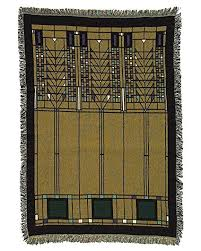 Frank Lloyd Wright Throw Blanket